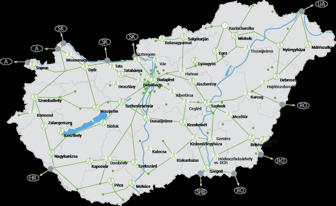 Invitech - több mint 10.000 kilométer hosszú extrém nagy átviteli kapacitású optikai gerinchálózat